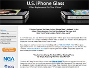 US iPhone Glass
