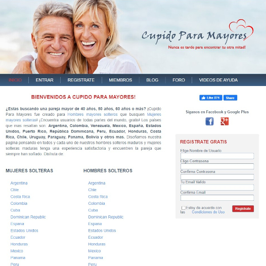 Cupido Website