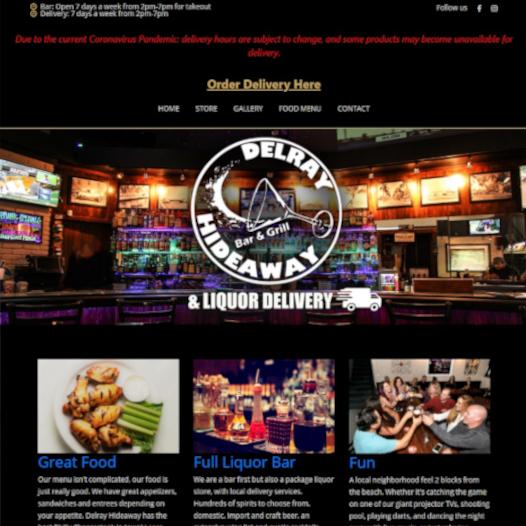 Delray Hideaway Website
